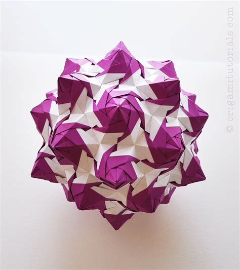 What Was Origami Used For - torch kusudama tutorial origami tutorials