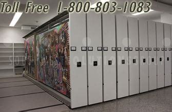 Mass Supply Cabinets by Mass Storage Shelving Cabinet System On Tracks