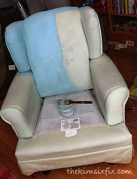 How To Remove Paint From Upholstery by Half Painted Chair Jpg