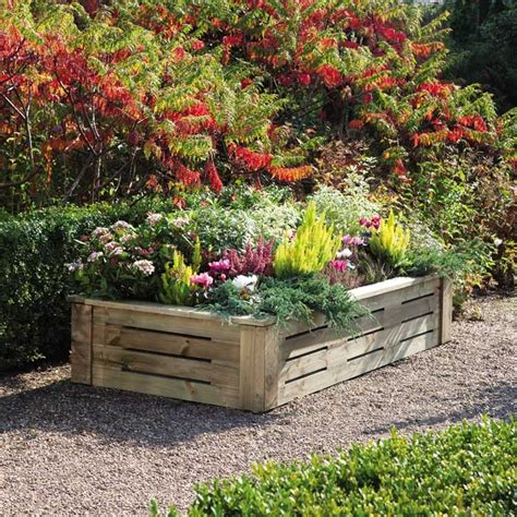 plant beds raised beds for easy low maintenance backyard gardens