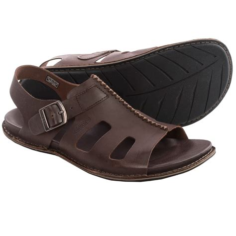 leather sandals keen alman leather sandals for save 47