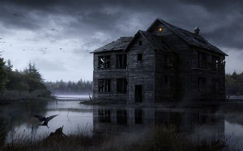 haunted house wallpapers wallpaper cave