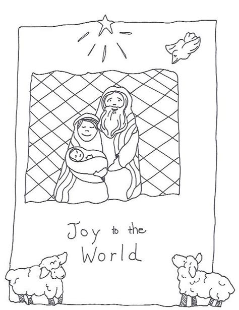 coloring pages for joy printable coloring sheet christmas joy to the world