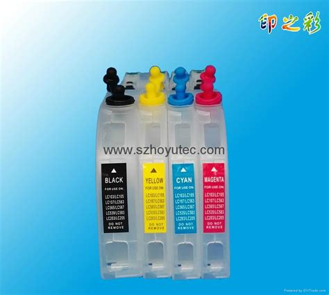 reset brother mfc j200 newest refill ink cartridge with chip lc261 for brother
