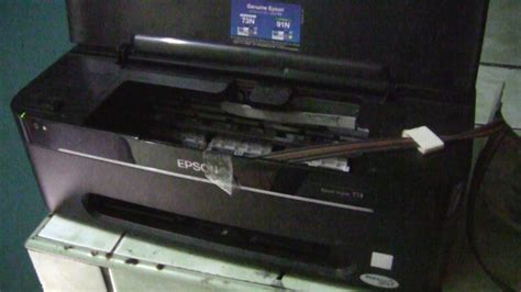 Ciss Epson Gabung T13 system troubleshooting epson t13 continuous ink system