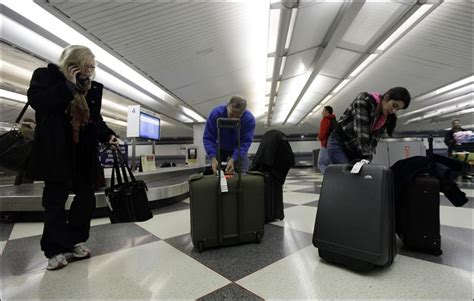 united check in luggage calm february skies help airlines to record low for