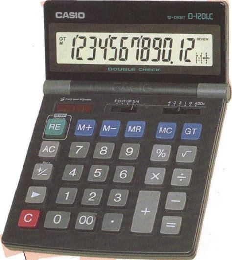 Kalkulator Casio Dj 220d Dj 240d casio d 120lc ordinateurs de poche calculatrices casio pb fx cfx pockets casio d 120lc