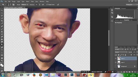 tutorial adobe photoshop karikatur photoshop tutorial how to make funny face cara