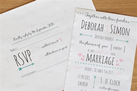 Cheap Handmade Wedding Invitations Uk - diy wedding invitations and tips hello deborah