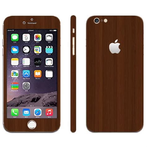 Wood Sticker For Iphone iphone skin sticker wood decal mac skins