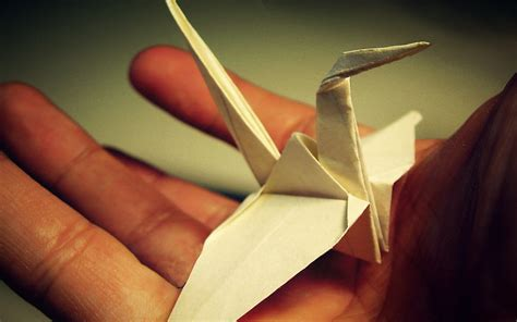 Origami Computer - 1920x1200 origami crane desktop pc and mac wallpaper