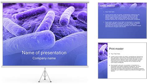 powerpoint templates free microbiology bacteria powerpoint template backgrounds id 0000000755