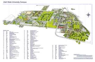 University Of Utah Map by Utah State University Campus Map