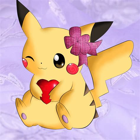 pikachu valentines day pikachu by theshelby2324 on deviantart