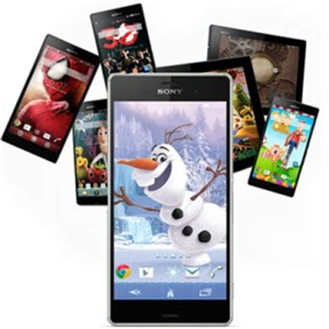 themes mobile sony xperia xperia theme creator beta tool released by sony create