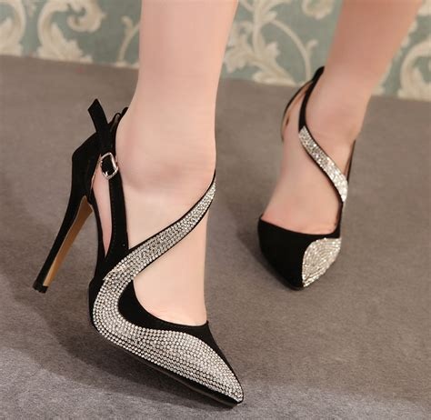 high heels 2015 2015 new fashion pointed toe pumps platform