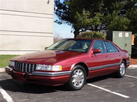 how to sell used cars 1997 cadillac seville regenerative braking sell used 1997 cadillac seville sls sedan red low miles beautiful l k nr in rowley