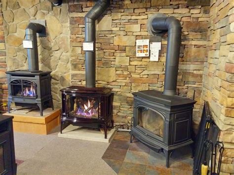 Brekke Fireplace Rochester Mn - left lopi greenfield enameled gas stove right lopi