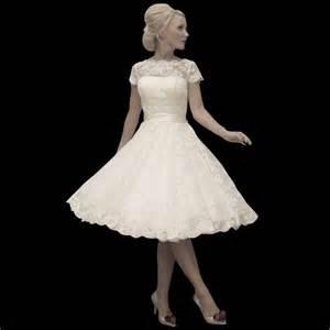 Short Wedding Dresses Uk House Of Mooshki Wedding Dress Sarah Calf Length Gown In Lace