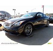 2011 Infiniti G 37 IPL Coupe In Limited Malbec Black