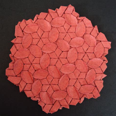 Origami Tessellation Diagrams - 2010 origami tessellations