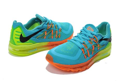 nike kid shoes nike air max 2015 light blue fluorescent yellow