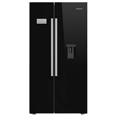 beko asd241b best prices cheapest black american fridge