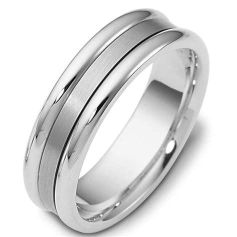 platinum comfort fit wedding band 111491pp platinum comfort fit 6 5mm wide wedding band