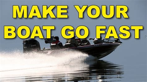 fast bass boat videos how to make your boat go faster fast bass boat youtube