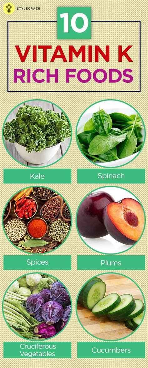 vitamin k vegetables and fruits top 10 vitamin k rich foods enabling to work and vegetables
