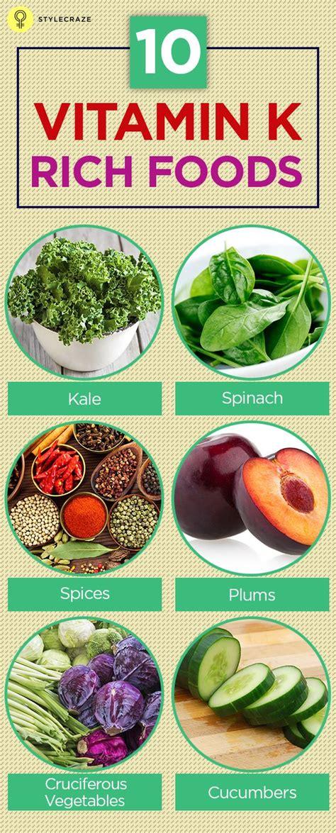 vitamin k vegetables top 10 vitamin k rich foods enabling to work and vegetables