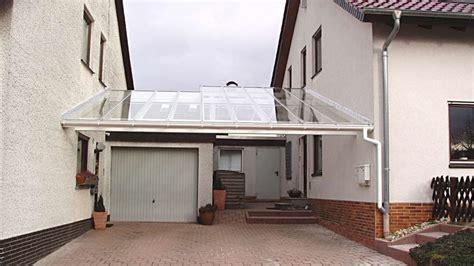 tür zwischen garage und wohnhaus glasdach carports carport in holz alu stahl carport