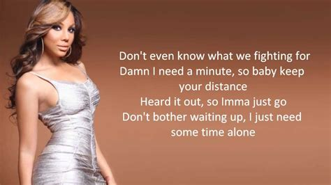tamar braxton all the way home lyric