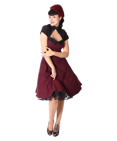 Bolero Swing by Harbor 40er Retro Bolero Swing Petticoat Kleid V