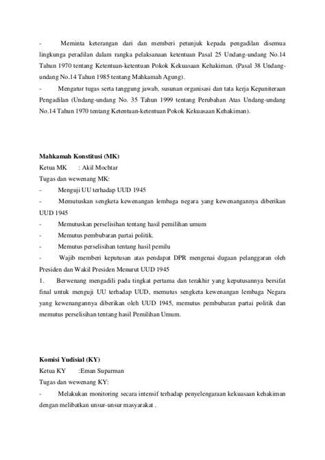 tugas 5 membuat teks anekdot hukum peradilan nama tugas dan wewenang presiden wakil presiden mpr