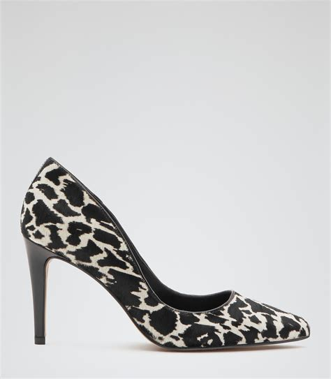 animal print shoes print animal print animal print court shoes reiss