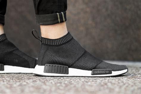 adidas nmd city sock black blue sock style shoes adidas originals nmd city sock black hypebeast