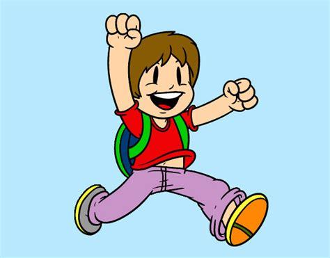 imagenes de niños alegres en caricatura dibujo de el ni 241 o divertido pintado por axeltorres en