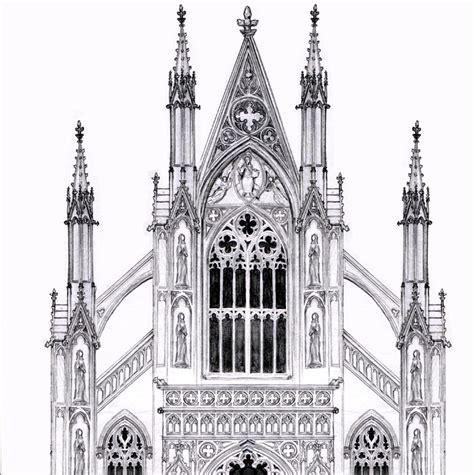 Catholic Church Floor Plan Designs by Gothic Facade By Dashinvaine On Deviantart
