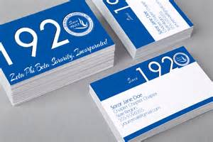 business cards company zeta phi beta 1920 business card color me finer