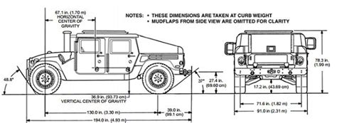 humvee blueprints army humvee drawing