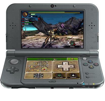 4u Mh4u Nintendo 3ds the inside of the mh4u 3dsxl monsterhunter