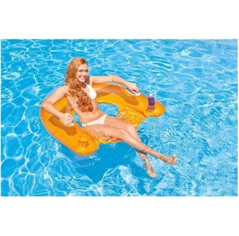 poltrona comodissima intex sit n float comodissima poltrona gonfiabile da mare