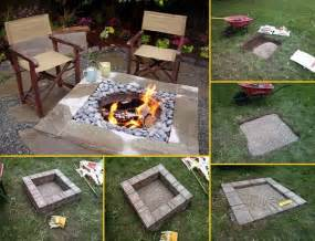 fire pit ideas diy how to build a square fire pit home design garden architecture
