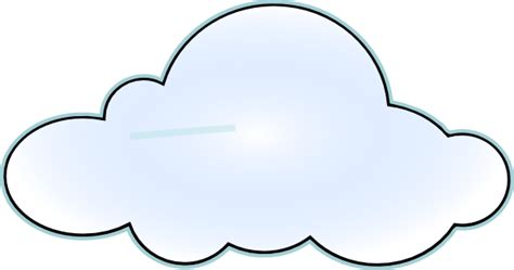 cloud clipart cloud clip at clker vector clip