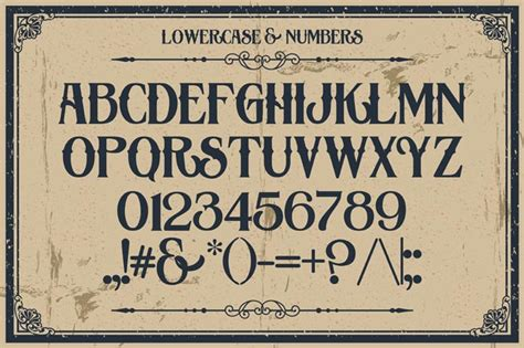 Vintage Lettering Fonts 10 Fantastic High Quality Fashioned Vintage Fonts