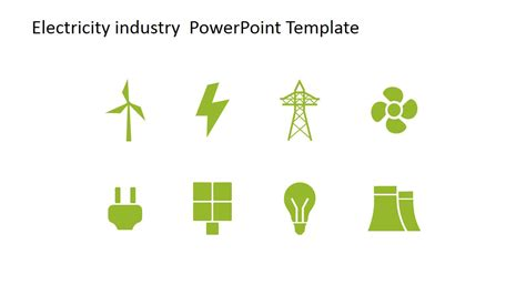 Energy Powerpoint Templates by Electricity Industry Powerpoint Template Slidemodel