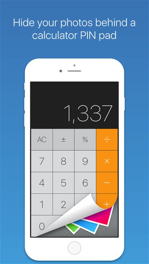 calculator hide app calculator vault hide pictures and videos lock photos