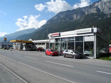 Autoinnenreinigung Chur garage chur autohandel tuning autoreinigung
