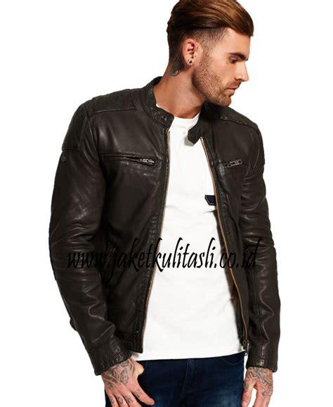 Jual Jaket Kulit Pria Terbaru jaket kulit asli pria a469 jual jaket kulit asli